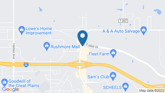 Country Inn & Suites by Radisson, Rapid City, SD Map