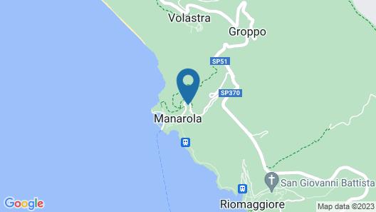 Giovanni Rooms Manarola Map
