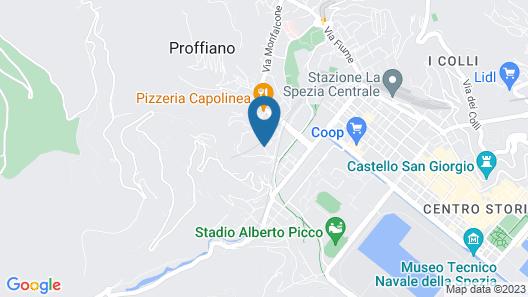 Levante Residence Map