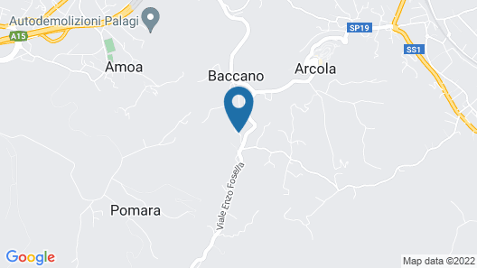 Gli Aceri Bed and Breakfast Map