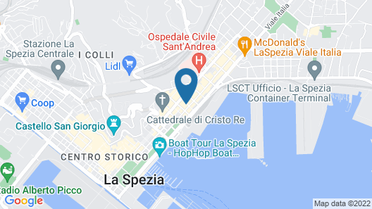 Apartment With one Bedroom in La Spezia, With Wonderful City View and Furnished Terrace - 6 km From the Beach Map
