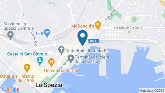 Appartamento e Camere Erika La Spezia Map
