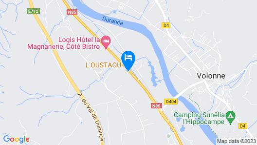 L'Oustaou Map
