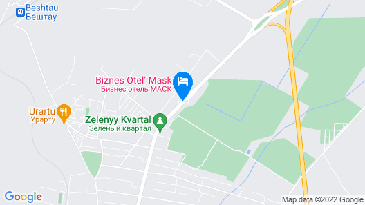 Business Hotel Mask Map