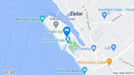 Zara Palace - Design Rooms Map