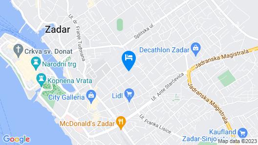 Apartments Villa Karla Map