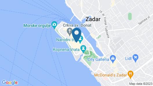 Downtown Boutique Hostel Map