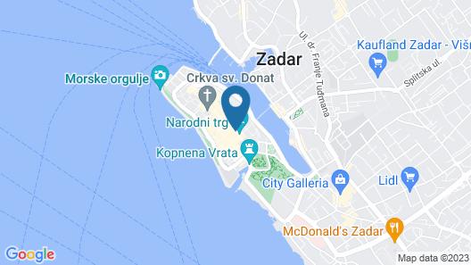 Art Hotel Kalelarga Map