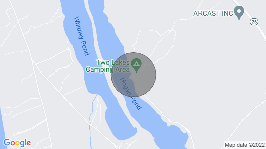 Hogan Pond Chalet Map