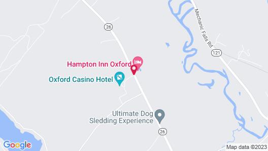 Hampton Inn by Hilton Oxford Map
