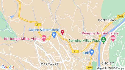Deltour Hôtel Millau Eco Map