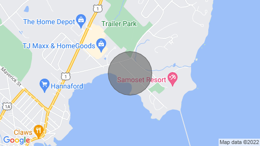 Located Directly On Rockland Harbor Map