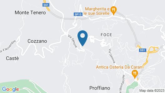 Hotel Nella Map