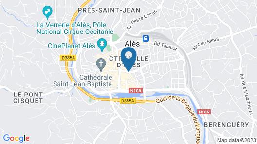 ibis Ales Centre Ville Hotel Map