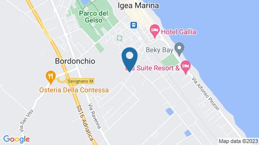 CasaLO' Igea Map