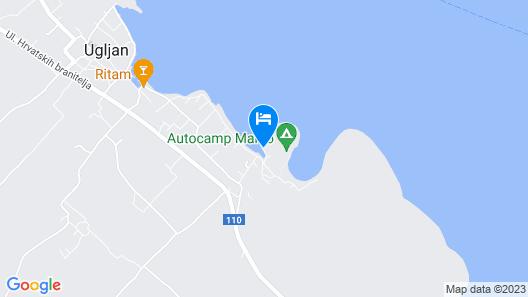 Apartment Maha  A1(4+1)  - Ugljan, Island Ugljan, Croatia Map