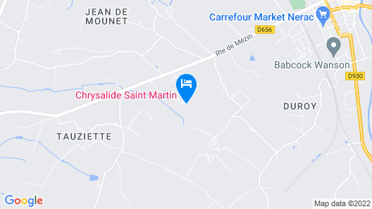 Chrysalide Saint Martin Map