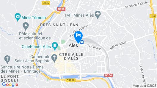 Le Riche Hotel Map