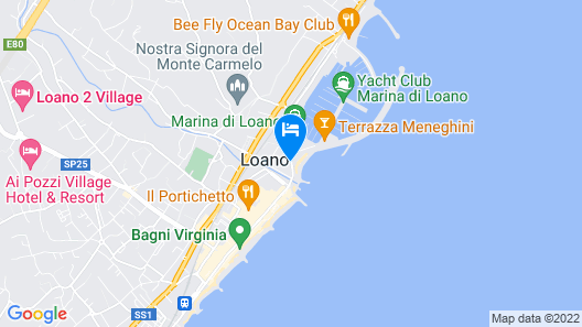 Hotel Garden Lido Map