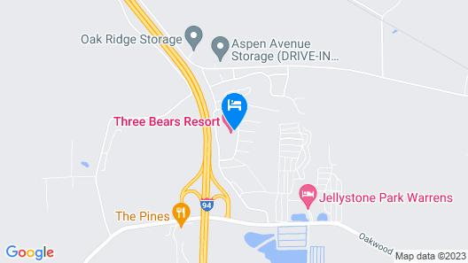 Three Bears Resort Map