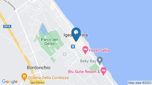 hotel carillon Map
