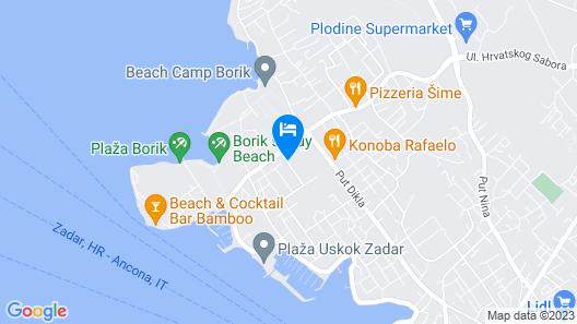 Villa Sonja Map