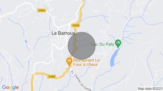 Provencal Landhouse, Le Barroux, Mont-ventoux, Vaucluse, Private Pool Map