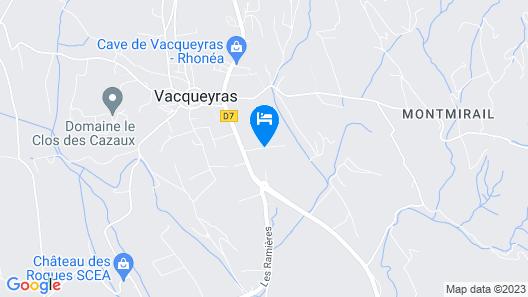 Cote Dentelles Map
