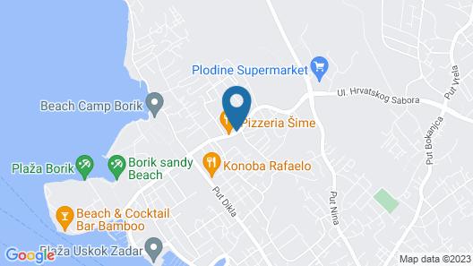 Hotel Mediteran Map