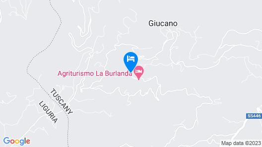 Agriturismo La Burlanda Map