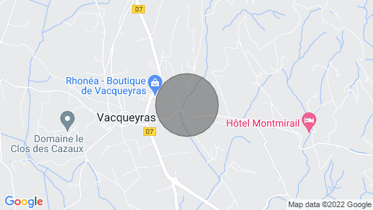 House in the Heart of the Dentelles de Montmirail -10% IN August Map
