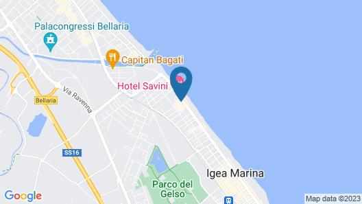 Hotel Estense Map