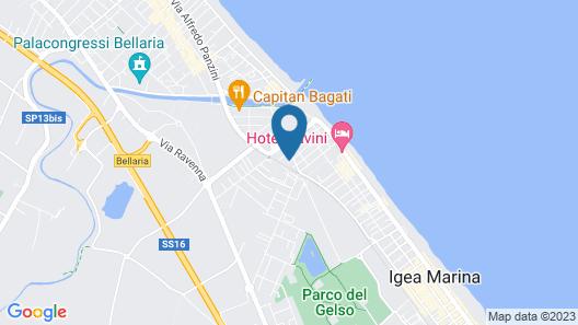 Hotel Grado Map