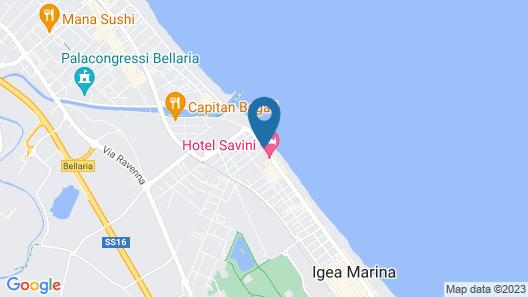 Hotel Agostini Map
