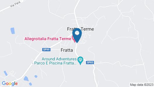 Grand Hotel Terme della Fratta Map