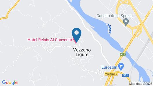 Hotel Relais al Convento Map