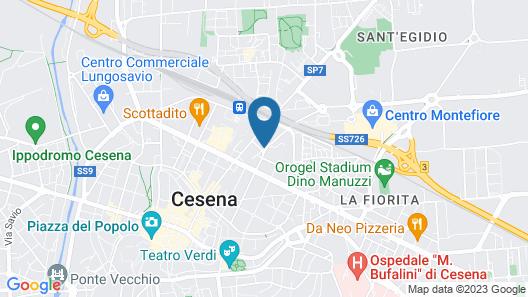 Casali Hotel Map