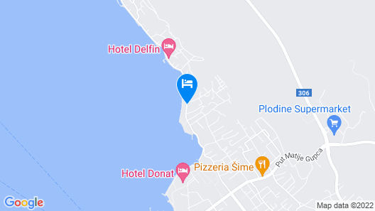 Villa Triana Map