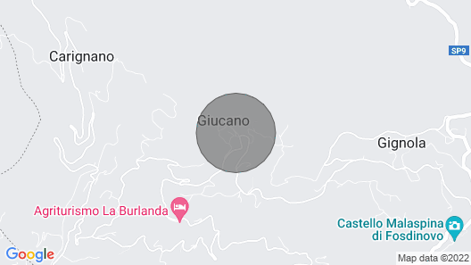 Casa Nonna Elda Three-room Apartment With View Over the Valley Map