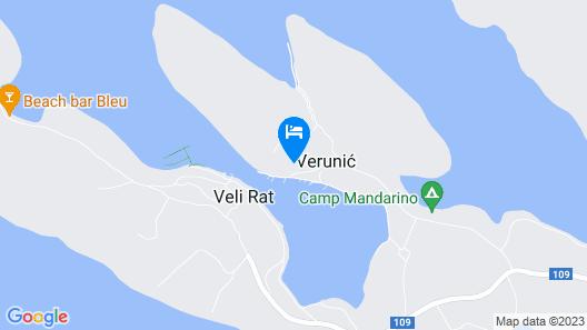 Gorgonia Apartments Map