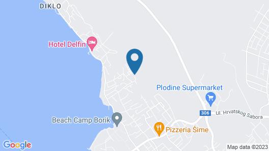 Villa Gravić Map