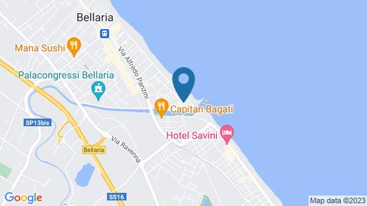 Hotel al Nuovo Porto Map
