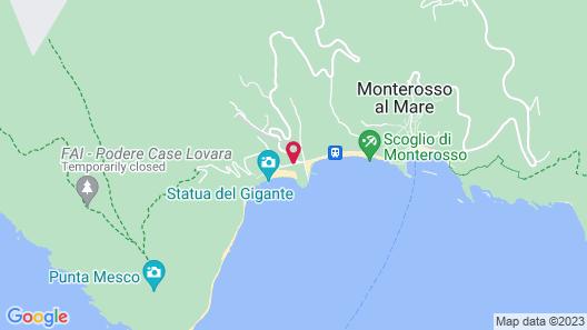 Villa degli Argentieri Map