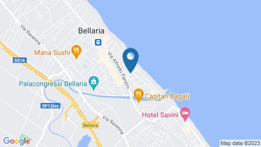 Hotel Villa dei Fiori Map