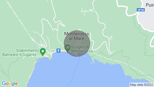 Casa Andreana - Monterosso al Mare. - Five Lands. 011 019-lt-0118 Map