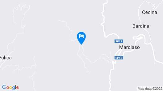 Carossa-a Tranquil Retreat Map