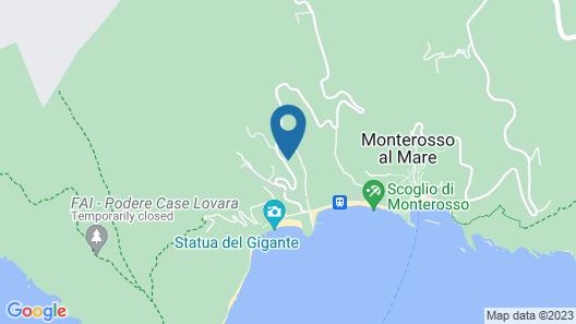 Affittacamere Alle 5 Terre Map