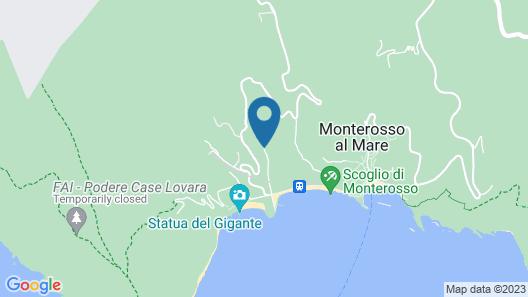 Hotel Punta Mesco Map