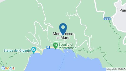 Villa Servano 10 Map