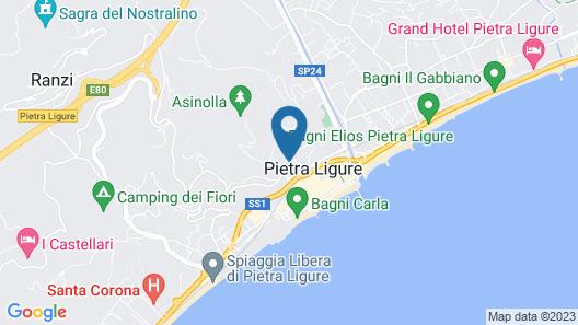 Residence Sant'Anna Map